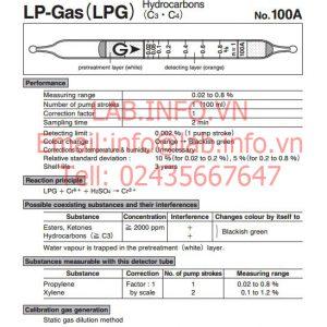 Test thử nhanh khí Liquid petroleum gasLPG