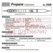 Gastec No.100B Propane CH3CH2CH3