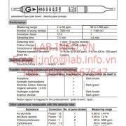 Gastec 102L Hexane CH3(CH2)4CH3