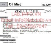 Gastec No.109A Oil Mist