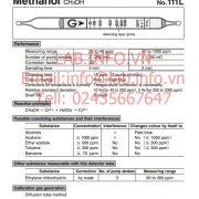 Gastec No.111L Methanol CH3OH