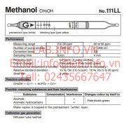 Gastec No.111LL Methanol CH3OH