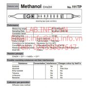 Gastec No.111TP Methanol CH3OH