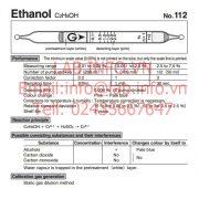 Gastec No.112 Ethanol C2H5OH