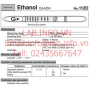 Gastec 112D Ethanol C2H5OH