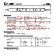 Gastec No.112L Ethanol C2H5OH
