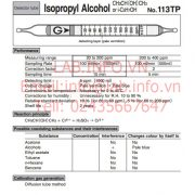 Gastec No.113TP Isopropyl Alcohol CH3CH(OH)CH3 iC3H7OH