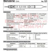 Gastec No.121 Benzene C6H6