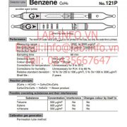 Gastec No.121P Benzene C6H6