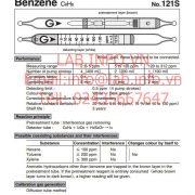 Gastec No.121S Benzene C6H6