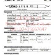 Gastec No.122 Toluene C6H5CH3
