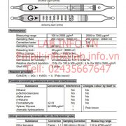 Gastec No.122P Toluene C6H5CH3