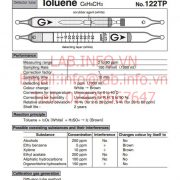 Gastec No.122TP Toluene C6H5CH3