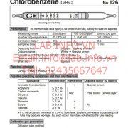Gastec No.126 Chlorobenzene C6H5Cl