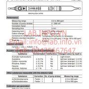 Gastec No.127 o-Dichlorobenzene C6H4CL2