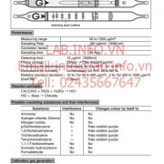 Gastec No.131P Vinyl Chloride CH2CHCl