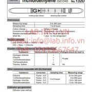 Gastec No.132D Trichloroethylene CHClCCl2