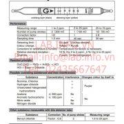 Gastec No.132L Trichloroethylene CHClCCl2