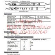 Gastec No.132P Trichloroethylene CHClCCl2