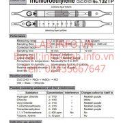 Gastec No.132TP Trichloroethylene CHClCCl2