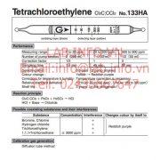 Ống phát hiện nhanh khí độc Tetrachloroethylene