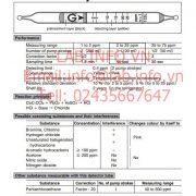 Gastec No.133L Tetrachloroethylene Cl2CCCl2