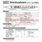 Gastec No.133LC Tetrachloroethylene Cl2CCCl2