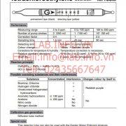 Gastec No.133M Tetrachloroethylene Cl2CCCl2