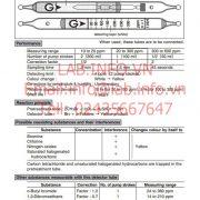 Gastec No.136H Methyl Bromide CH3Br