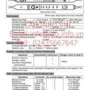 Gastec No.136L Methyl Bromide CH3Br