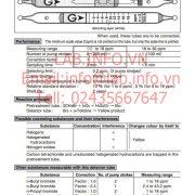 Gastec No.136LA Methyl Bromide CH3Br