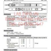 Gastec No.137 Chloroform CHCl3