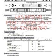 Gastec No.137LA Chloroform CHCl3