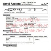 Gastec No.147 Amyl Acetate CH3CO2C5H11