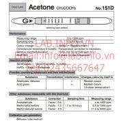 Gastec No.151D Acetone CH3COCH3