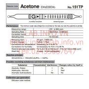Gastec No.151TP Acetone CH3COCH3