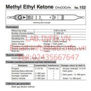Gastec No.152 Methyl Ethyl Ketone CH3COC2H5
