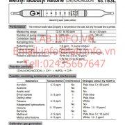 Gastec No.153L Methyl Isobutyl Ketone (CH3)2CHCH2COCH3