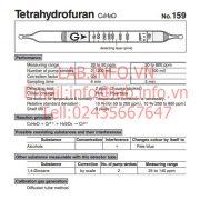 Gastec No.159 Tetrahydrofuran C4H8O