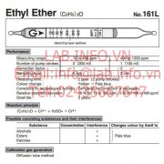 Gastec No.161L Ethyl Ether (C2H5)2O