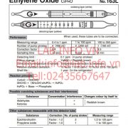 Gastec No.163L Ethylene Oxide C2H4O