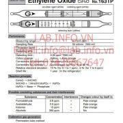 Gastec No.163TP Ethylene Oxide C2H4O