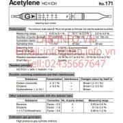 Gastec No.171 Acetylene C2H2