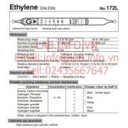 Gastec No.172L Ethylene CH2CH2