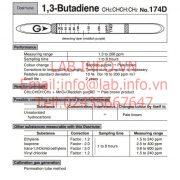 Gastec No.174D 1,3 Butadiene CH2CHCHCH2