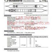Gastec No.174LL 1,3 Butadiene CH2CHCHCH2