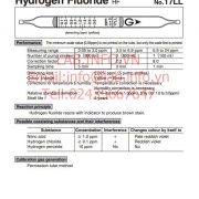 Ống phát hiện khí nhanh Hydrogen Fluoride HF 17LL