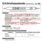 Gastec No.184-N,N Dimethylacetamide CH3CON(CH3)2