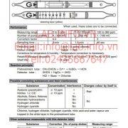 Gastec No.191 Acrylonitrile CH2CHCN