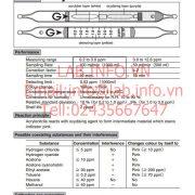 Gastec No.191TP Acrylonitrile CH2CHCN